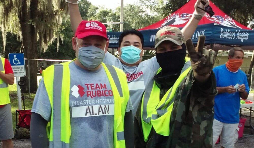 Volunteer to Feed Orlando Veterans