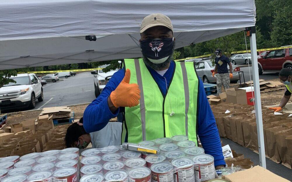 Volunteer to Help Feed Atlanta Veterans