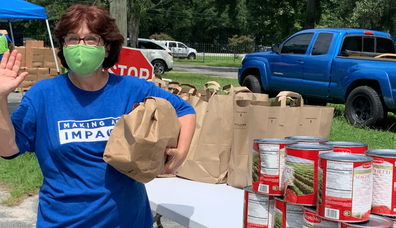 Food Assistance for veterans in Charleston